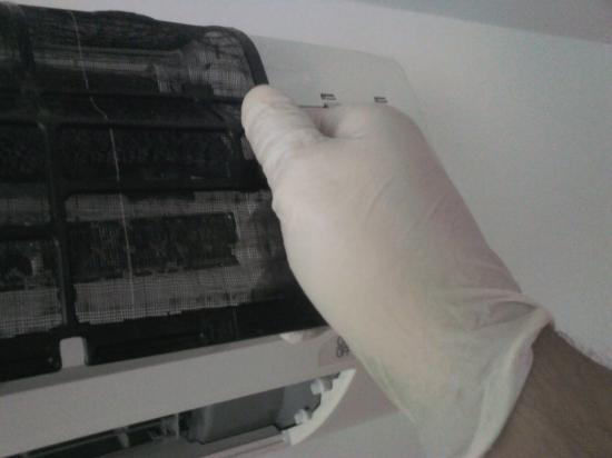 Beltéri egységek fertőtlenítése gőztisztítóval