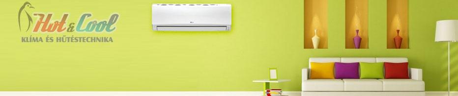 LG E12EL Eco Plus Inverteres oldalfali split klíma
