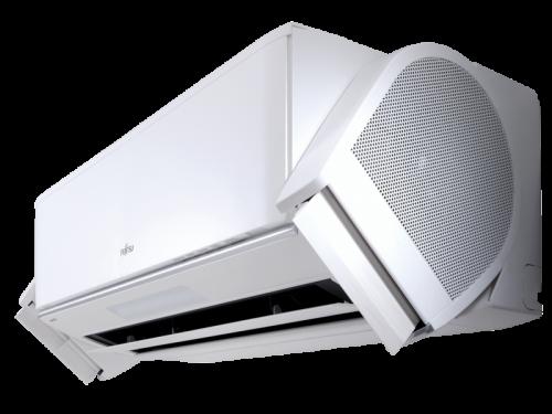 FUJITSU ASYG-09KXCA / AOYG-09KXCA NOCRIA X Inverteres oldalfali split klíma ( Fűtésre optimalizált )!