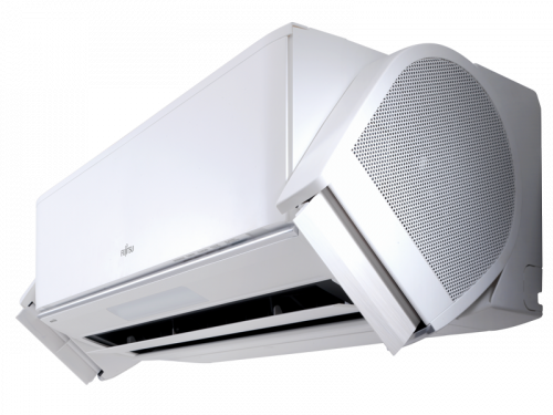 FUJITSU ASYG-12KXCA / AOYG-12KXCA NOCRIA X Inverteres oldalfali split klíma 2017 modell ( Fűtésre optimalizált )!