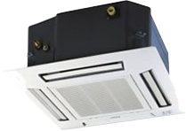 Panasonic KIT-Z25-UB4 Inverteres álmennyezeti kazettás split klíma